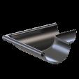 Угол желоба наружный 90 гр. KROP 125/90 сталь, 3 м
