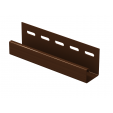 J-планка Ю-Пласт коричневая, шт