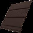Софит Ю-Пласт c частичной перфорацией коричневый, м2