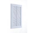 Решетка вентиляционная 14*21 см с сеткой Hardi 01905 белая