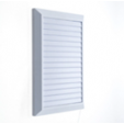 Решетка вентиляционная 20*28 см с сеткой и жалюзи Hardi 03100 белая