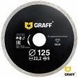 Диск алмазный  по керамической плитке 125x5x22,23 мм GRAFF