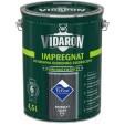 Пропитка для дерева Vidaron Impregnat V16 серый антрацит, 4,5 л