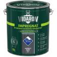 Пропитка для дерева Vidaron Impregnat V16 серый антрацит, 9 л