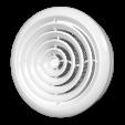 Диффузор приточно-вытяжной со стопорным кольцом и фланцем D-100 мм, шт