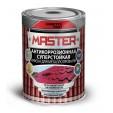 Эмаль для металлопрофиля RAL 3005 Farbitex Profi Master, 0,9 кг
