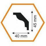 Плинтус потолочный MT 45/40, 2 м