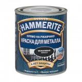 Эмаль на ржавчину Hammerite черная с молотковым эффектом 0,75л