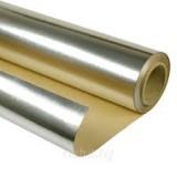 Фольга для бани алюминиевая на бумажной основе 0.02*1000*15м.рул.