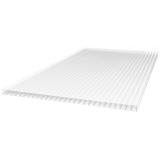 Поликарбонат сотовый прозрачный для теплиц Multigreen (РФ), 4мм