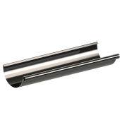 Желоб водостока KROP 125/90 сталь, 3 м