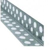 Угол перфорированный алюминиевый AL 2500x0,30х19 мм