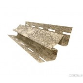 Угол внутренний Ю-Пласт кирпич песочный, шт