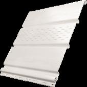 Соффит Ю-Пласт c частичной перфорацией белый, м2