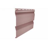 Сайдинг виниловый Ю-Пласт корабельный брус розовый, м2
