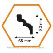 Плинтус потолочный C 65/80, 2 м