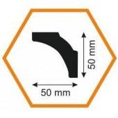 Плинтус потолочный B5 50/50, 2 м