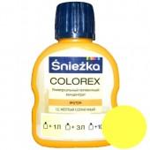 Краситель Sniezka Colorex №12 желтый солнечный, 100 мл