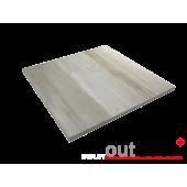 Плитка из керамогранита Outdoor бежевая pastoral 600*600*20мм, м2