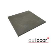 Плитка из керамогранита Outdoor серая ales 600*600*20мм, м2