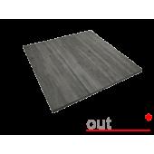 Плитка из керамогранита Outdoor серая cassero 600*600*20мм, м2