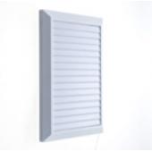 Решетка вентиляционная 20*28 см с сеткой Hardi 02900 белая