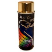 Краска аэрозольная Crafts Spray Effect золото, 400 мл