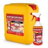 Пропитка-антисептик Dali универсальный бесцветный против плесени и грибка 0.6 л