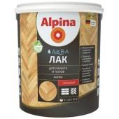 Лак акриловый для паркета и полов Alpina Аква Лак шелковисто-матовый 2,5 л