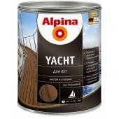 Лак яхтный Alpina Yachtlack глянцевый 0,75 л