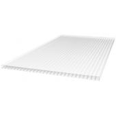 Поликарбонат сотовый прозрачный для теплиц Greenhouse-nano (РФ), 4мм