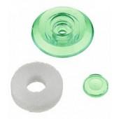 Термошайба для крепления поликарбоната универсальная зеленая,шт.