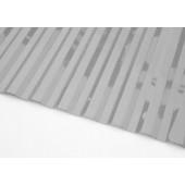 Профилированный поликарбонат 0,8мм волна 70/14 серый