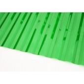 Профилированный поликарбонат 0,8мм волна 70/14  зелёный