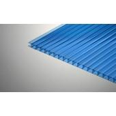 Поликарбонат сотовый синий Sotalux, 6 мм