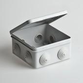 Коробка распаячная для открытой проводки 100х100х50мм 67045 Рувинил