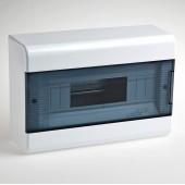 Щиток для открытой проводки с горизонтальной дверцей 68012 Рувинил белый