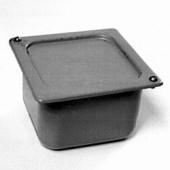 Коробка распределительная металлическая 100х100х80мм У-994