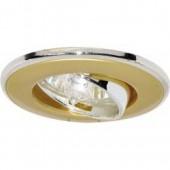 Светильник Feron 301T MR16 G5.3 золото-хром, шт.