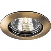 Светильник Feron DL307 MR16 G5.3 античное золото, шт.
