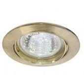Светильник Feron DL308 MR16 G5.3 золото, шт.