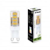 Лампа светодиодная Feron LB-432 G9 5W 220V 4000K