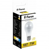 Лампа светодиодная Feron LB-91 7W LED E27 2700K