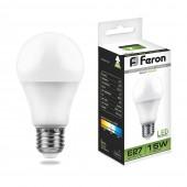 Лампа светодиодная Feron LB-94 15W LED E27 4000K