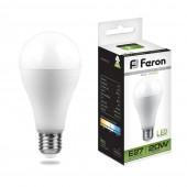 Лампа светодиодная Feron LB-98 20W LED E27 4000K