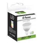 Лампа светодиодная Feron LB-26 7W LED G5.3 MR16 4000K