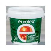 Лак EUROTEX-САУНА  для бань и саун 0.9 кг