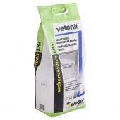 Шпатлевка на полимерном связующем Weber Vetonit LR+, 5 кг