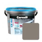 Затирка для швов Ceresit CE40 №13 антрацит, 2 кг