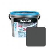 Затирка для швов Ceresit CE40 №16 графит, 2 кг